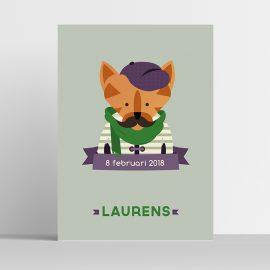 Poster Hipster kat