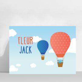 Poster luchtballonnen