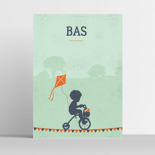 Poster Silhouette Bike